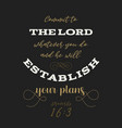 bible quote from proverbs vector image vector image