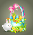 easter background design vector image vector image