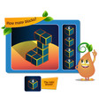 game educational 8 block kids vector image