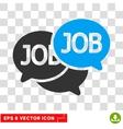 Labor Market Eps Icon vector image vector image