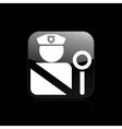 police icon vector image vector image