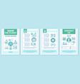 Saving planet brochure template layout