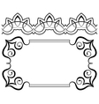 set of frames and borders Elements for design vector image vector image