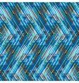 Striped chevron vintage pattern vector image