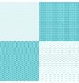 pattern dot waves vector image