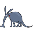 aardvark vector image vector image