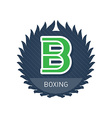 Boxing - Sports and Recreation Label or heraldic vector image