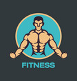 Fitness logo icon design