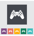 game icon vector image