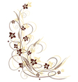 Grain flowers vector image