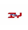 iY company logo vector image vector image