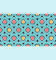 seamless pattern in authentic arabian style color vector image vector image