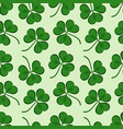 st patricks day background in green colors vector image