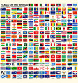 flags of sovereign states regions and territories vector image