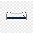 air conditioner concept linear icon isolated on vector image vector image