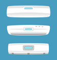 air conditioning home conditioner isolated house vector image