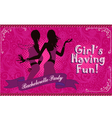 Bachelorette party girls night out