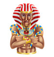 egyptian avatar vector image