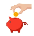Money Savings Icon vector image vector image