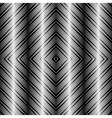 Op Art Design Tiles with Striped Squares Seamless vector image vector image