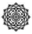 scandinavian tattoo 0005 vector image vector image
