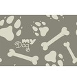 My Dog pattern vector image