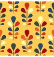 Abstract seamless floral pattern Eps 8 vector image vector image
