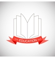 with education elements background vector image vector image