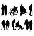 disabled vector image