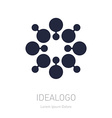 Abstract Logo logotype design element or icon vector image vector image