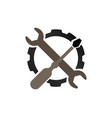 auto repair logo icon vector image
