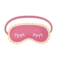 Blindfolds icon in cartoon style isolated on white vector image