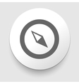 Compass Icon navigation vector image