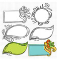 DoodlesFlmeArt vector image vector image
