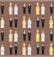 religion people characters group vector image