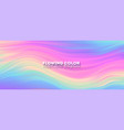 stream colorful liquid shape transitions of vector image vector image