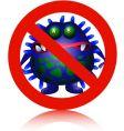 anti virus vector image