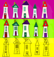 0415 3 funny house v vector image vector image
