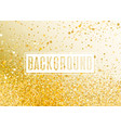 abstract gold romantic vector image