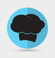 chef hat icon vector image