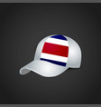 flags cap design vector image