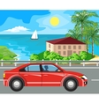 landscape and travel vector image vector image