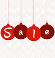 Sale Tags Chinese new year vector image vector image