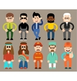 Set of flat men different professions vector image vector image