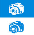 DSLR Camera icon vector image