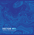 blue marble or acrylic texture imitation vector image