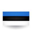Estonian Flag vector image