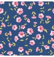 Flower samless pattern vector image vector image