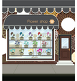 Flower shop vector image vector image