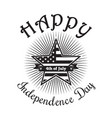 happy independence day of america 4th of july vector image vector image